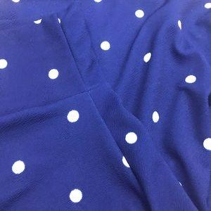 Slightly worn - lularoe Azure - blue & white - 2XL